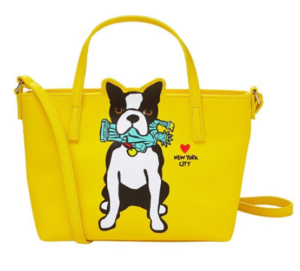 marc tetro boston terrier purse