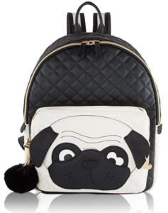 Betsey Johnson bag - Fashion dog backpack (pug)