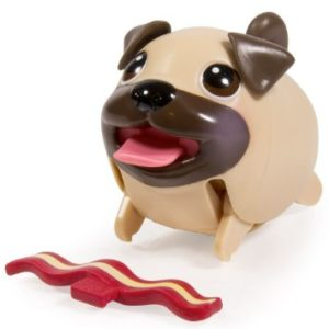 cute wind up pug puppy