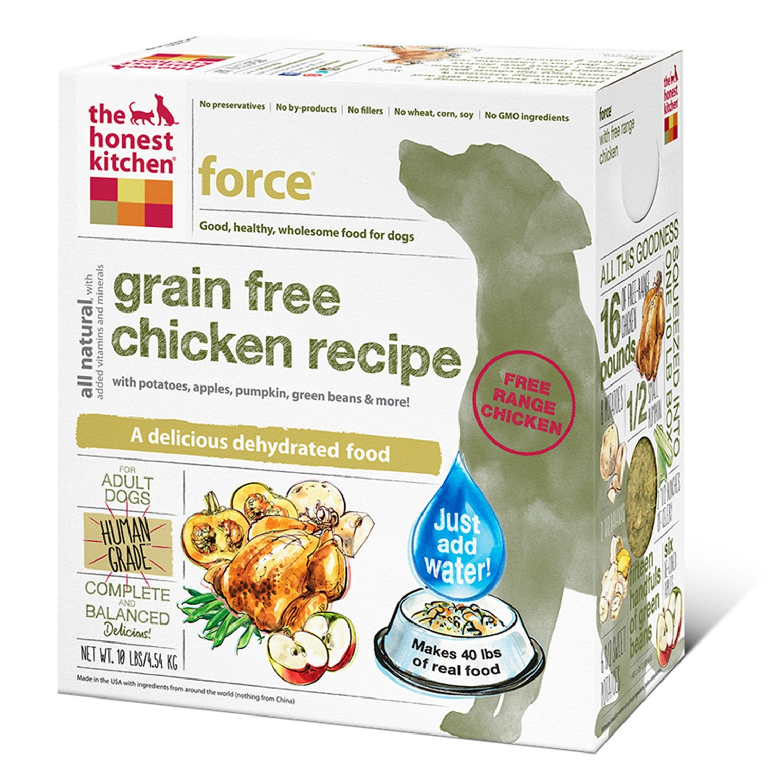 Honest Kitchen Natural dog food