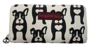 cute boston terrier womens wallet