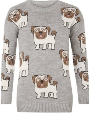 knitted pug sweater