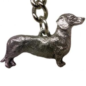 dog keychain sausage dog