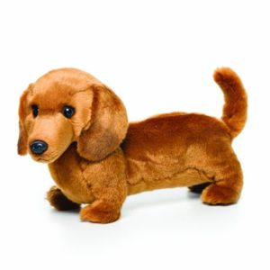 cute doxie stuffed animal