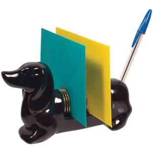 weiner dog doxie pen holder office organizer