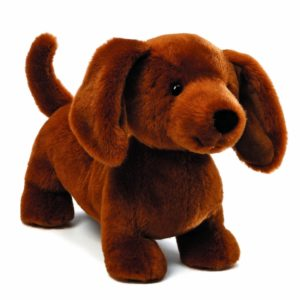 stuffed animal adorable weiner dog