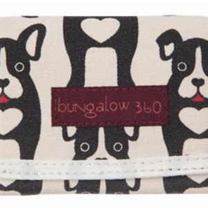 velcro wallet dog cute heart
