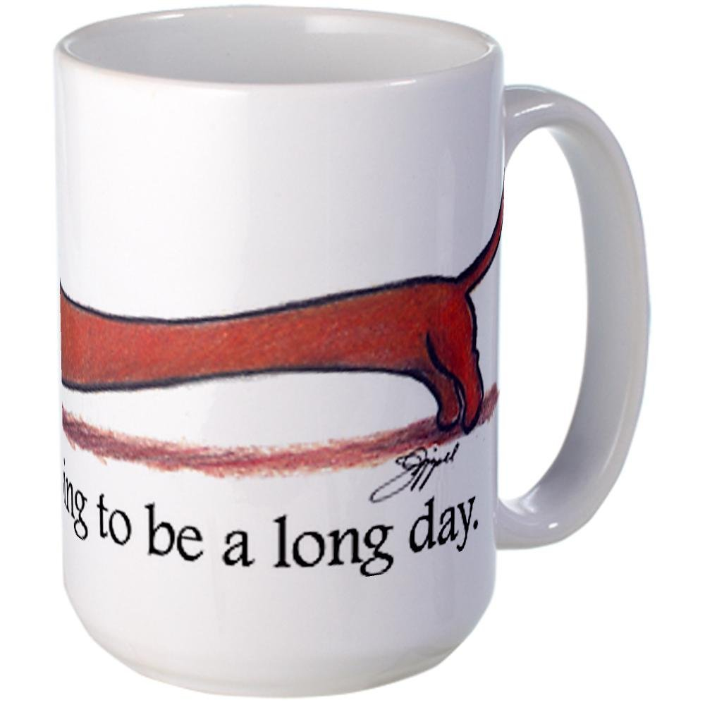 Going to be a long day dog mug