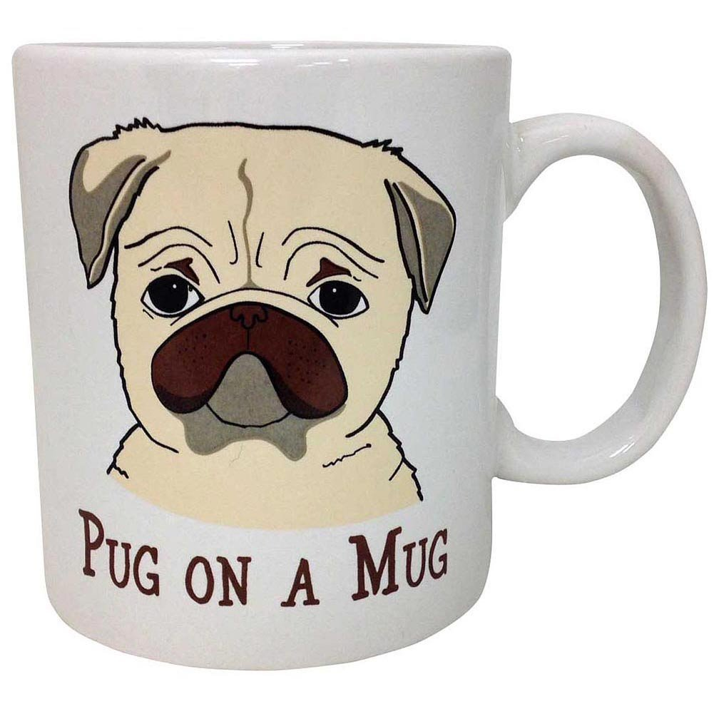 sad frowning dog mug