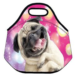 happy dog lunch tote neoprene insulted bag