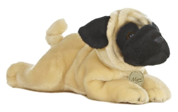 cute pug puppy soft plush toy