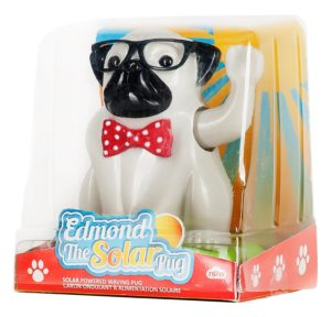 edmond the waving pug puppy toy