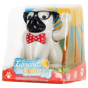 edmond the waving pug puppy toy