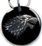 direwolf dogtag