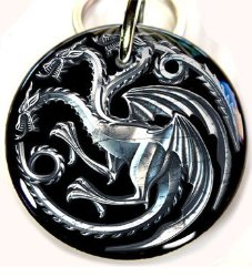 dragon dog tag game of thrones