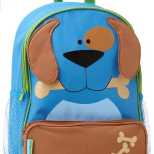 childs dog backpack blue