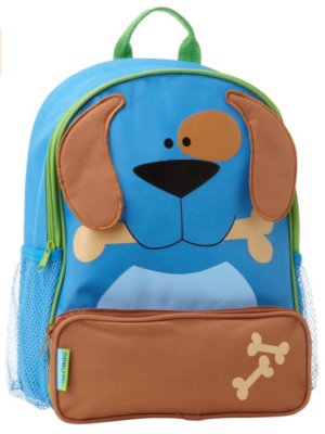 childs dog backpack blue