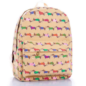 dachshund backpack decoration