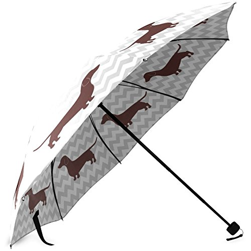 doxie umbrella cute dog pattern weiner dog