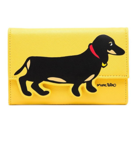 dog wallet dachshund