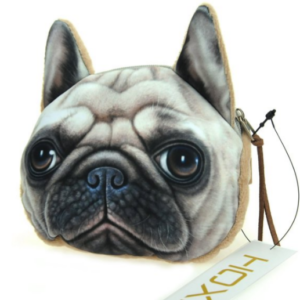 pug face coin purse (small)