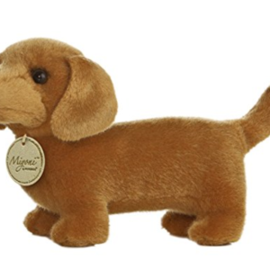 cute stuffed dachshund toy