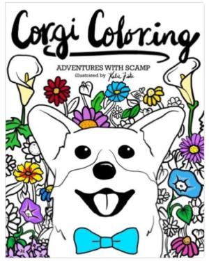 cute dog coloring books