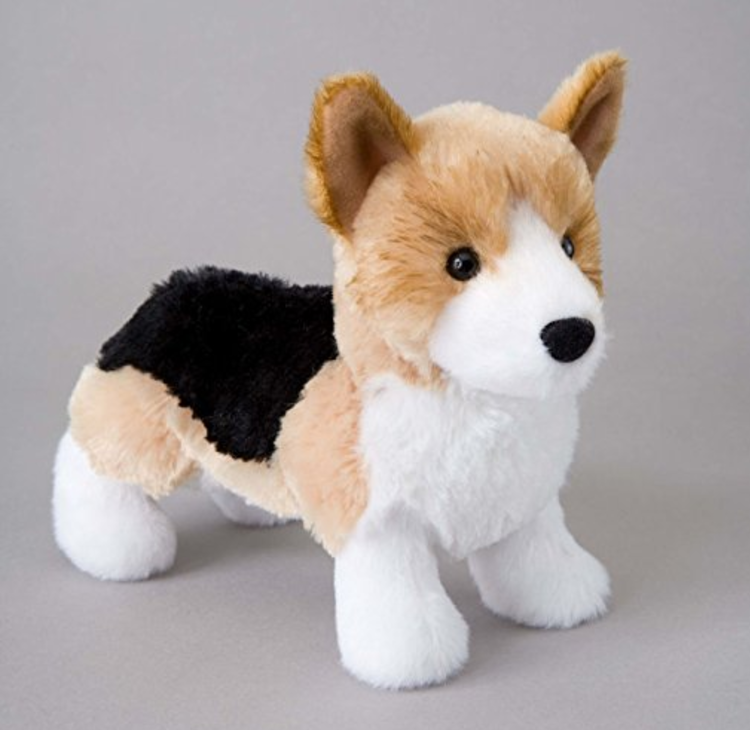 cute corgi stuffed animal plushie