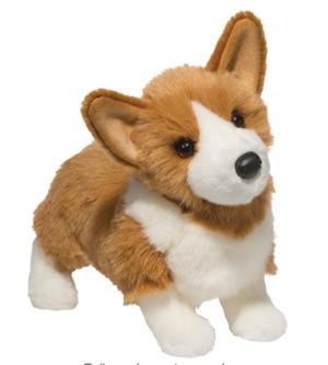 Corgi stuffed animal toy