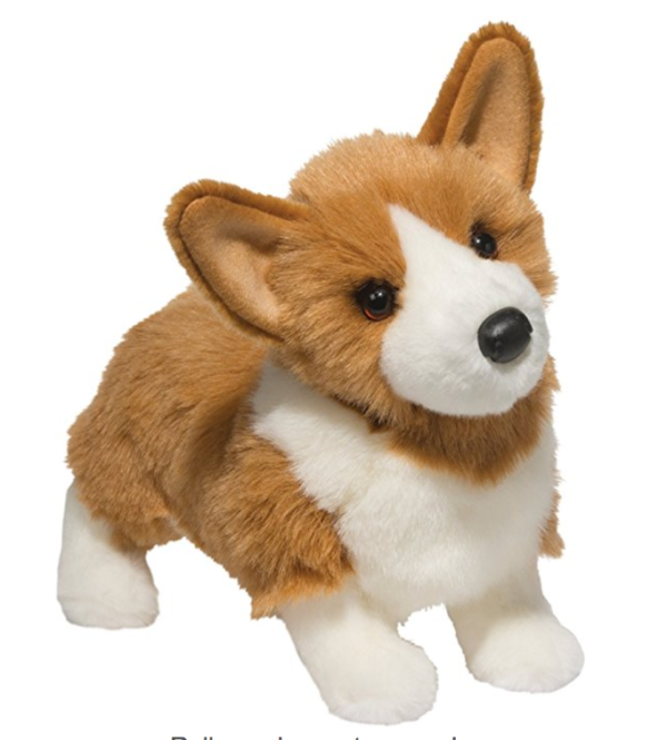 Corgi stuffed animal toy