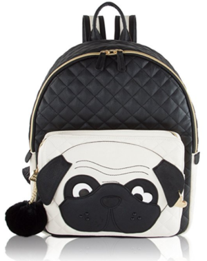 Betsey Johnson bag - Fashion dog backpack (pug)