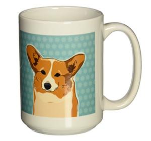 cute Corgi coffee mug