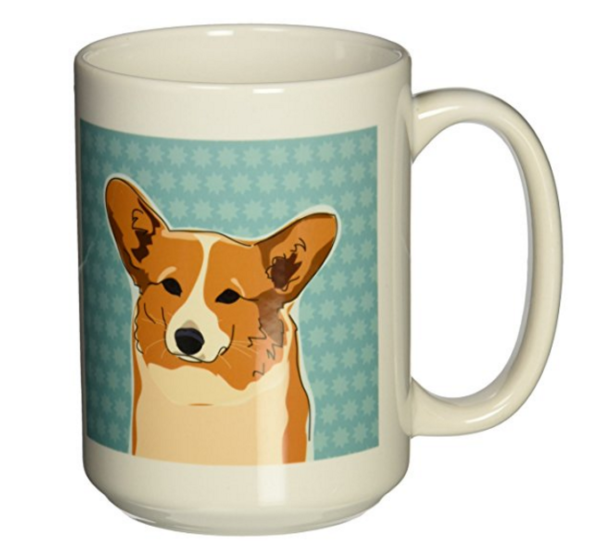 cute Corgi coffee mug