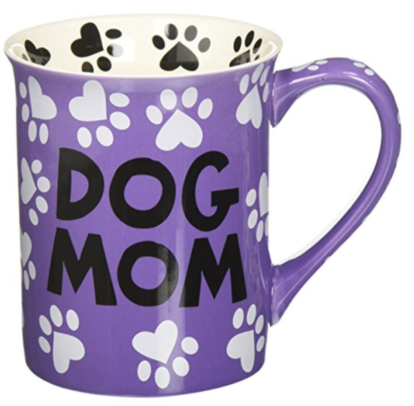 Mug with paw prints for Dog Loving Ladies