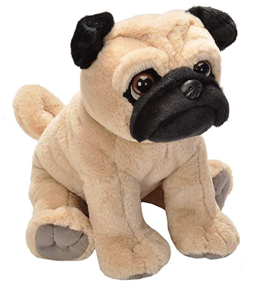 Plush Pug Stuffed Animal Good Dog Gifts